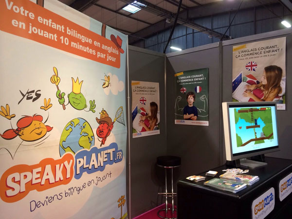 Le stand SpeakyPlanet
