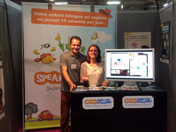 SpeakyPlanet, l'exposant le plus innovant :-D